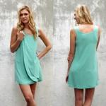 JEN DRESS Style #1170 100% Silk Size:  XS-L Color: *Turquoise - Shell - Ivory