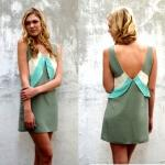 FILLY DRESS Style #1150 100% Silk Size: XS-L *Cactus/Ivory/Turquoise - Cactus/Ivory/Shell